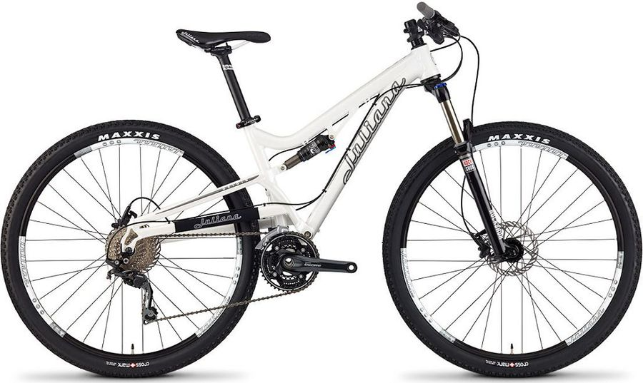 juliana origin segundo 29er womens mountain bike 2014 colour pearl white size letter s